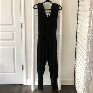Rachel Roy black jumpsuit